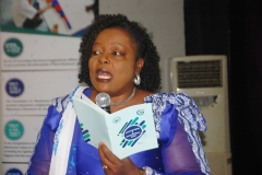 Mrs Ronke Soyombo (DG Education Lagos State) FMEN Honorary President